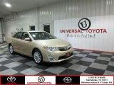 2012 Sandy Beach Metallic Toyota Camry XLE #80290089