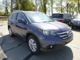 2013 Twilight Blue Metallic Honda CR-V EX-L AWD #80290709