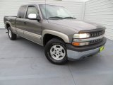 2000 Charcoal Gray Metallic Chevrolet Silverado 1500 LS Extended Cab 4x4 #80290338