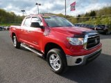 Radiant Red Toyota Tundra in 2012
