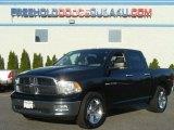 2010 Brilliant Black Crystal Pearl Dodge Ram 1500 Big Horn Crew Cab 4x4 #80290826