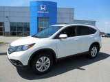 2013 White Diamond Pearl Honda CR-V EX-L AWD #80290674