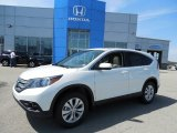 2013 White Diamond Pearl Honda CR-V EX AWD #80290672