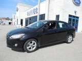 2012 Tuxedo Black Metallic Ford Focus SE Sport Sedan #80290301