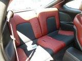 2008 Hyundai Tiburon SE Rear Seat