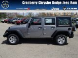 2013 Billet Silver Metallic Jeep Wrangler Unlimited Sport 4x4 #80290162