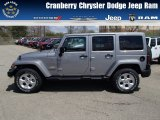 2013 Billet Silver Metallic Jeep Wrangler Unlimited Sahara 4x4 #80290160