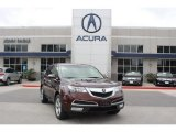 2011 Dark Cherry Pearl Acura MDX Technology #80290044