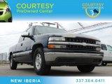 2002 Indigo Blue Metallic Chevrolet Silverado 1500 LS Extended Cab #80290786