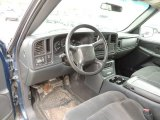 2002 Chevrolet Silverado 1500 LS Extended Cab Graphite Gray Interior