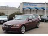 2006 Barrique Red Metallic BMW 3 Series 330xi Sedan #80290778