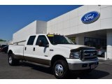 2005 Oxford White Ford F350 Super Duty Lariat Crew Cab 4x4 Dually #80290250