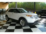 2011 White Suede Ford Explorer XLT #80290894
