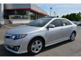 2013 Classic Silver Metallic Toyota Camry SE #80290249