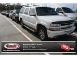 2001 Summit White Chevrolet Suburban 1500 Z71 4x4 #80290002