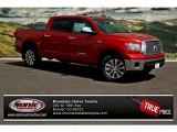 2013 Barcelona Red Metallic Toyota Tundra Platinum CrewMax 4x4 #80289993