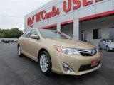 2012 Sandy Beach Metallic Toyota Camry XLE #80290103