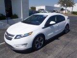 2013 Summit White Chevrolet Volt  #80351256