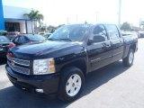 2013 Black Chevrolet Silverado 1500 LT Crew Cab 4x4 #80351322