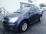 2013 Atlantis Blue Metallic Chevrolet Equinox LT #80351320