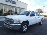 2013 Summit White Chevrolet Silverado 1500 LT Crew Cab 4x4 #80351319