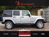 2013 Billet Silver Metallic Jeep Wrangler Unlimited Sahara 4x4 #80350985