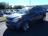 2013 Atlantis Blue Metallic Chevrolet Equinox LT #80351315