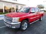 2013 Victory Red Chevrolet Silverado 1500 LT Crew Cab 4x4 #80351312