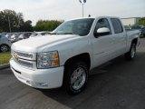 2013 Summit White Chevrolet Silverado 1500 LTZ Crew Cab 4x4 #80351310