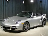 2008 Arctic Silver Metallic Porsche 911 Turbo Cabriolet #43205