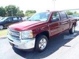 2013 Deep Ruby Metallic Chevrolet Silverado 1500 LT Crew Cab #80351357