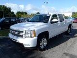 2013 Summit White Chevrolet Silverado 1500 LTZ Crew Cab #80351356