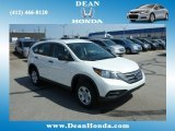 2013 White Diamond Pearl Honda CR-V LX AWD #80351163