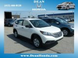 2013 White Diamond Pearl Honda CR-V LX AWD #80351162