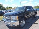 2013 Black Chevrolet Silverado 1500 LT Crew Cab #80351346