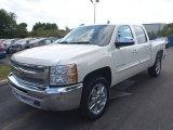 2013 White Diamond Tricoat Chevrolet Silverado 1500 LT Crew Cab 4x4 #80351340
