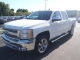 2013 Summit White Chevrolet Silverado 1500 LT Crew Cab 4x4 #80351337