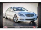 2013 Diamond White Metallic Mercedes-Benz S 550 Sedan #80383910
