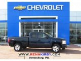 2009 Imperial Blue Metallic Chevrolet Silverado 1500 LT Extended Cab 4x4 #80391863