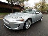 2010 Liquid Silver Metallic Jaguar XK XK Coupe #80391966