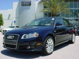 2008 Deep Sea Blue Pearl Effect Audi A4 2.0T Sedan #8020009