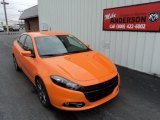 2013 Header Orange Dodge Dart Rallye #80392008