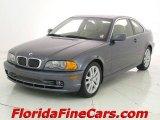 2002 Steel Grey Metallic BMW 3 Series 330i Coupe #8025545