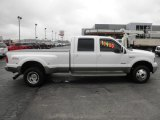 2005 Oxford White Ford F350 Super Duty King Ranch Crew Cab 4x4 #80391944