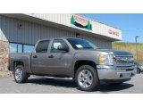 2013 Graystone Metallic Chevrolet Silverado 1500 LT Crew Cab 4x4 #80391893