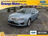 2010 Light Ice Blue Metallic Ford Fusion Hybrid #80391776