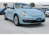 2013 Denim Blue Volkswagen Beetle 2.5L Convertible #80391938