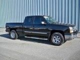 2004 Black Chevrolet Silverado 1500 LS Extended Cab 4x4 #8026126