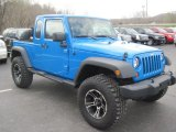 2012 Jeep Wrangler Unlimited Cosmos Blue