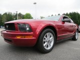 2005 Redfire Metallic Ford Mustang V6 Deluxe Coupe #80425779